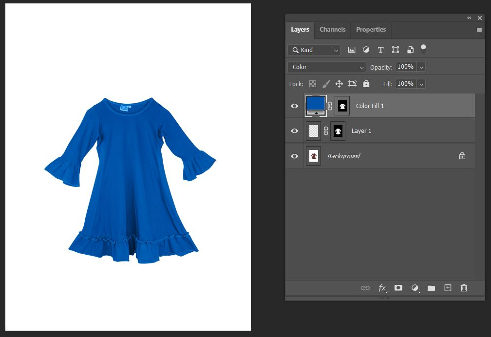 change object color in photoshop